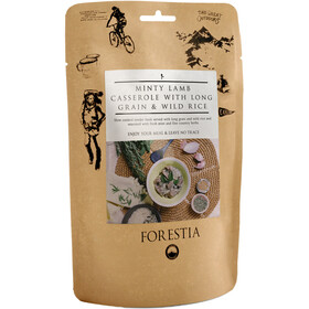 Forestia Outdoor Meal Meat 350g, Minty Lamb Casserole with Long Grain and Wild Rice